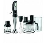 Alleskönner, BRAUN Mixer mit Zubehör, für Smoothie/Gemüseraspeln/Teigkneten
