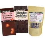Edelmond® Schokoladen-Auswahl – vegan u. zuckerfrei