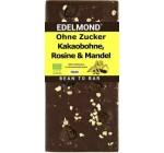 Edelmond® Bio bittere Schokolade mit Rosinen und Mandeln