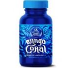 Konzentriertes Sango Coral | Natürliches Calcium aus fossilen Korallensedimenten ohne Zusätze | 80 Kapseln | Nur 1 Kapsel pro Tag
