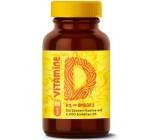 Sonnenvitamine | Vitamin D3 + K2 + Omega 3 aus Meeresalgen und Leinöl | 80 Depot-Kapseln | Maximale Rohstoffreinheit & Bioverfügbarkeit