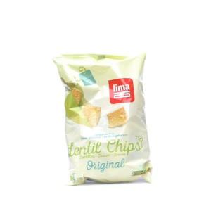Lentil Chips original, 90gr.