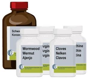 Wurm- und Parasitenkur Dr. Clark Kur