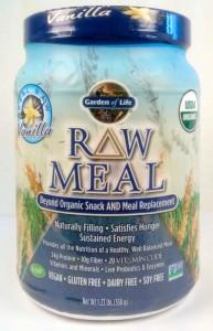 Garden of Life – Raw Meal (für Veganer MRP Non GMO) – Vanille – 558g