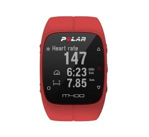 Polar M400 GPS-Laufuhr rot