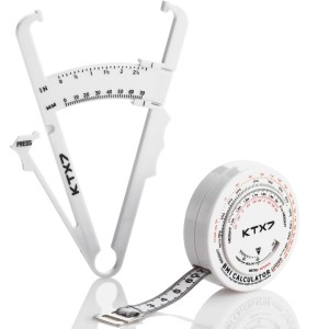KTX7® Körperfettmessgerät V.2 + BMI-Umfangsmessband inkl. Onlineprogramm