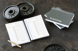 Trainingstagebuch für das Krafttraining mit 180 Seiten