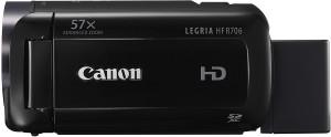 Canon LEGRIA HF R706 Full-HD Camcorder für Einsteiger schwarz