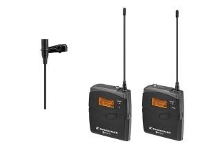 Clip-on Mikrofon mit Transmitter und Diversity Kamera Receiver/ME 2 Omni Sennheiser