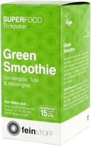 Feinstoff Bio Green Smoothie to go, 15 x 8 g