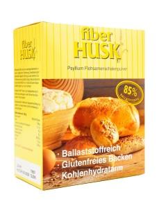 FiberHUSK Flohsamenschalen gemahlen | Exklusive QUALITÄT | Glutenfrei | LowCarb | Höchste REINHEIT