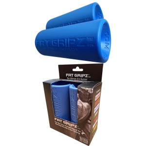 Fat Gripz Ultimate Hantelgriffe, Ø 5,7cm , blau