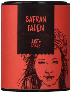Just Spices Safran Fäden, ganz, 1er Pack