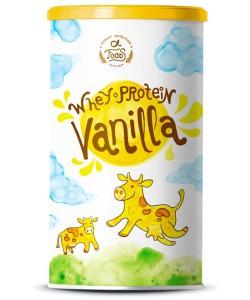 Whey Protein – Vanille – Low Carb ohne Zuckerzusatz – 500 Gramm Pulver – Eiweißpulver mit 100% reinem Molkeprotein