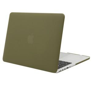 Tastatur Schutz Olive Macbook Pro 13 2014er Modell olive